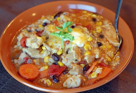 Taco Soup Rice Cooker