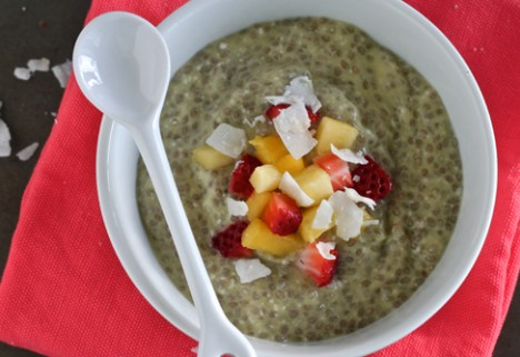Tropical Chia Seed Pudding