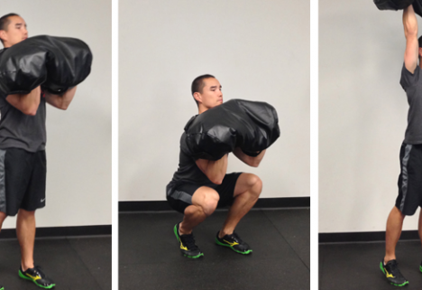 The Ultimate Full-Body Sandbag Workout [INFOGRAPHIC]