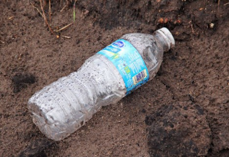 Reduce Waste by Recycling Plastic Water Bottles