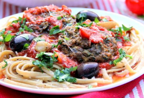 Recipe: Vegetarian Meatballs