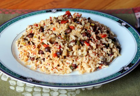 Veggie Rice and Beans