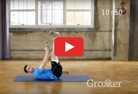 Ab Workout: Weighted Core Workout