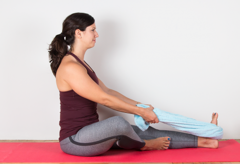 10 Yoga Moves for Mega Inflexible People