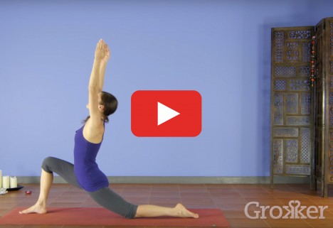 Yoga Workout: Crescent Lunge