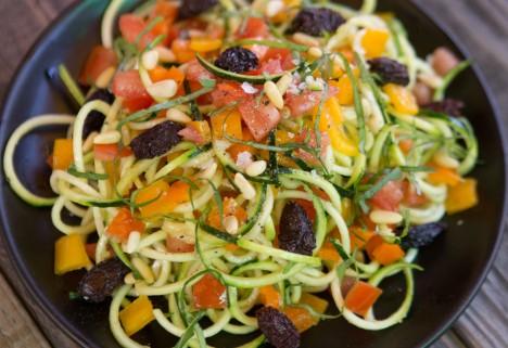 Zucchini Noodles Al Dente