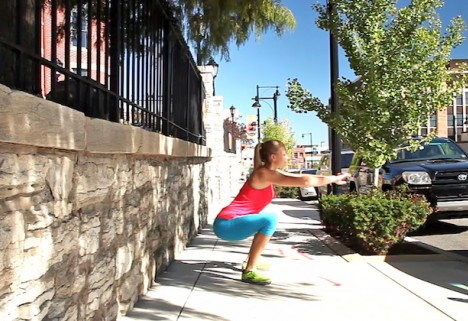 Greatist Workout of the Day: Air Squats