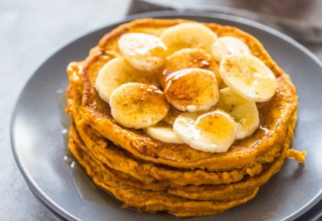 Pumpkin Banana Pancakes Recipe