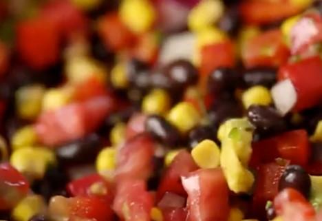 video: black bean salad feature