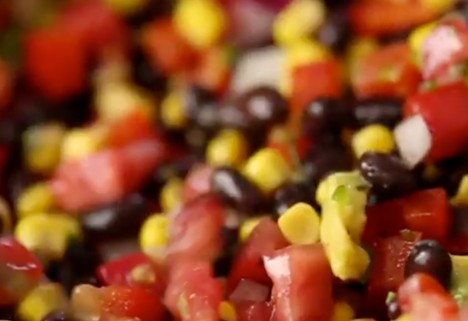 video: black bean salad feature
