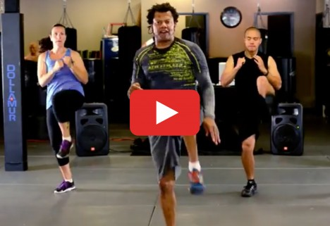 Cardio Kickboxing Video