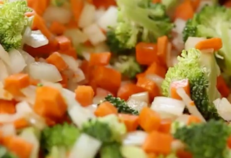 video: cauliflower fried rice feature