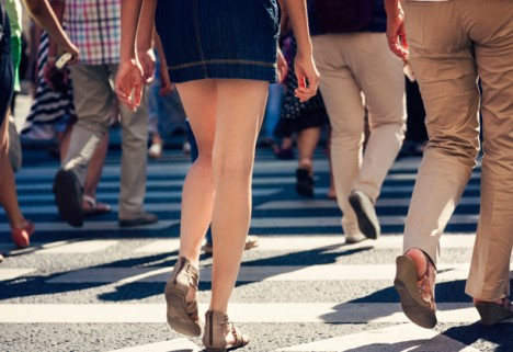 The Top 15 States Where People Walk the Most
