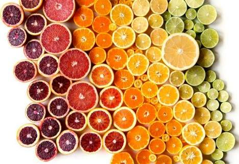 Food Photographer Brittany Wright's Colorful Instagram: Wright Kitchen citrus photo