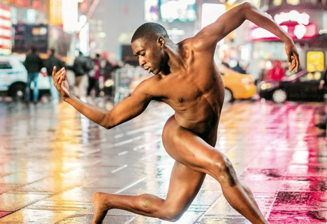Photos of Dancers Performing Naked Show How Crazy-Strong They Really Are