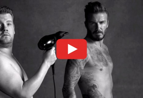 The Surprising New David Beckham Underwear Ad