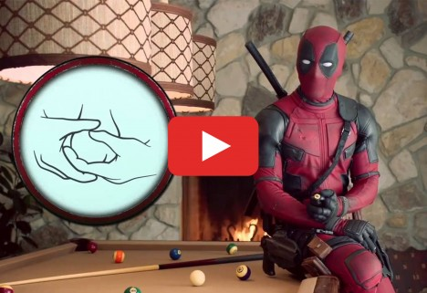 Deadpool Has a Message About Testicular Cancer