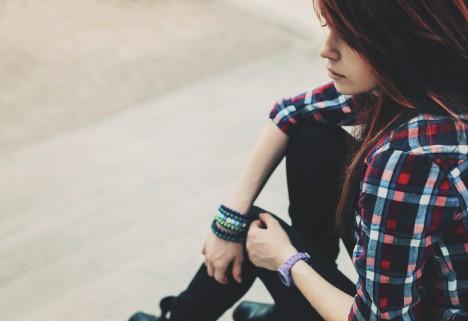 Life Lesson: Depressed Female Thinking