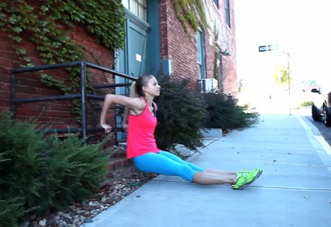 Greatist Workout of the Day: Dips