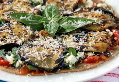 Recipe: Eggplant Pizza