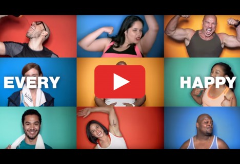 Blink Fitness Every Body Happy Campaign