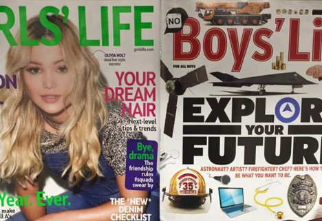 Girls Life vs. Boys Life