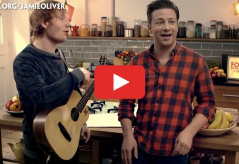 Jamie Oliver Raps for Food Revolution Day