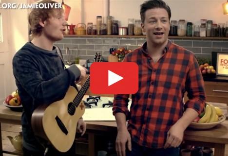 Jamie Oliver Raps for Food Revolution Day