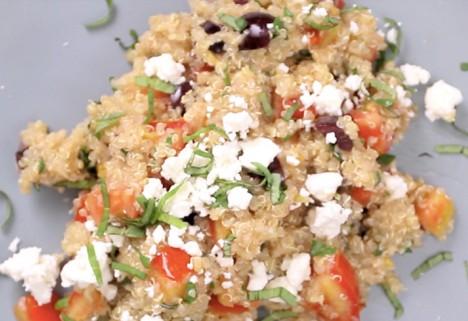 Eat Me Video: Greek Quinoa feature