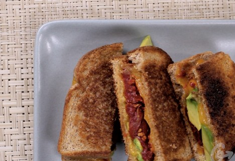 Eat Me Video: Avocado Tomato Grilled Cheese