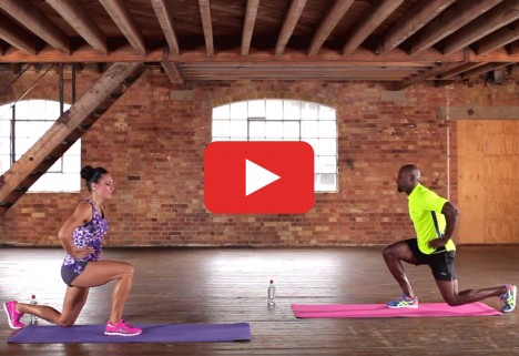HIIT Workout: Lunge