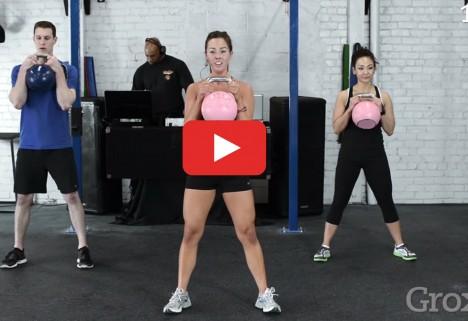 Grokker Kettlebell Workout