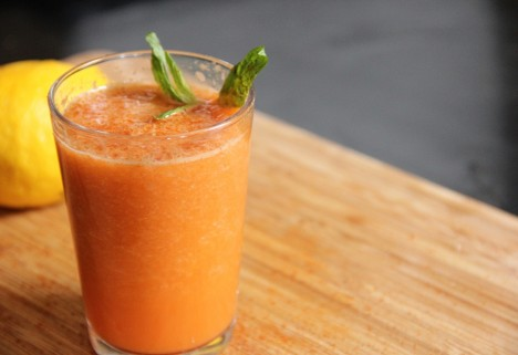 Halloween Carrot Pumpkin Juice