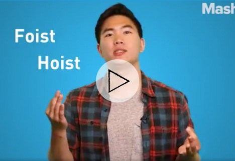 Mashable video about the word 'moist'