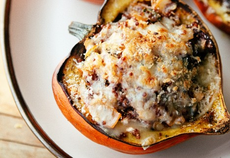 Greek Stuffed Acorn Squash
