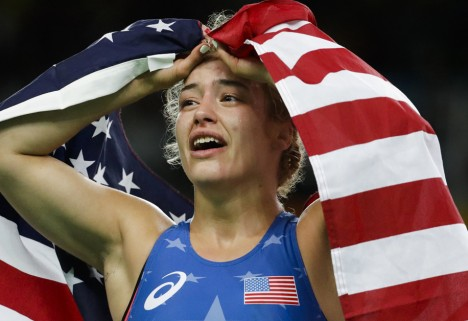 An Olympic Wrestler Won Gold in Rio Because of Her Anxiety, Not in Spite of It