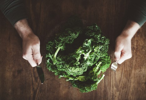 Kale Eating Contest