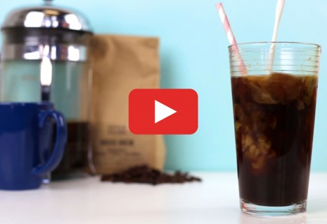 The One Trick To Keep Iced Coffee Strong