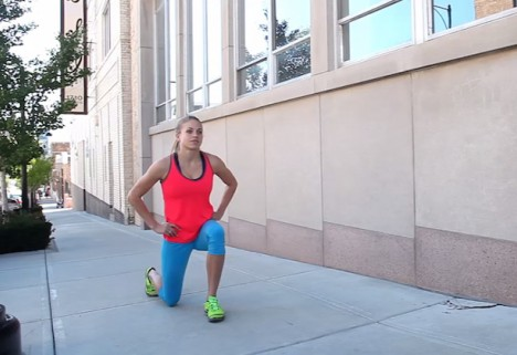 Greatist Workout of the Day: Jumping Lunges