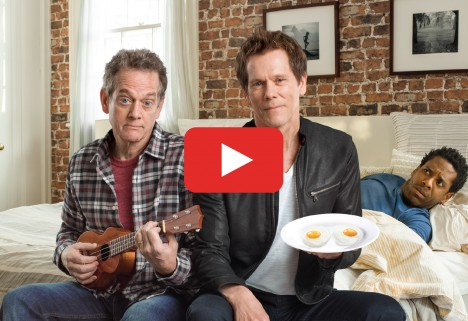 Kevin Bacon and Eggs Ad