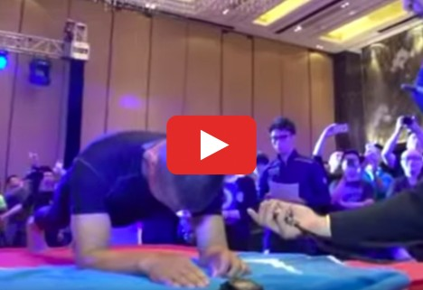 World Record for Planking: Man Holds Plank for Eight Hours