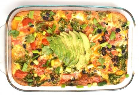Mexican Breakfast Casserole