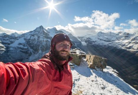 national park selfie