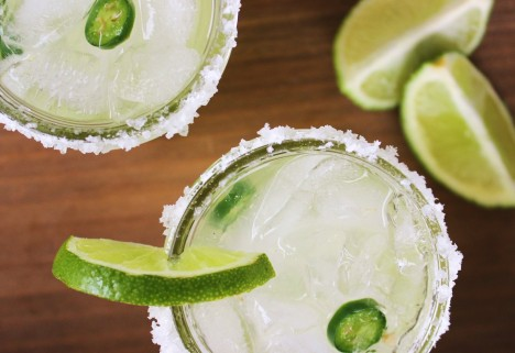 Recipe: Healthier Spicy Margarita