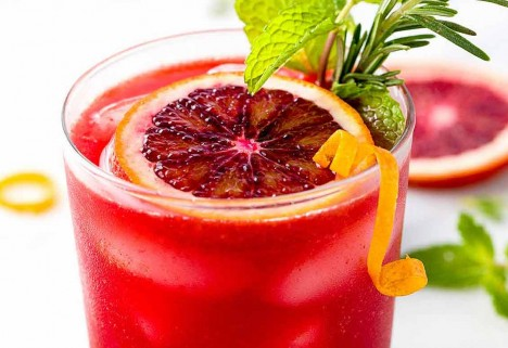 Blood Orange Turmeric Mocktail