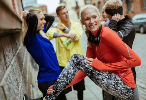 Exercise Tips: People Running