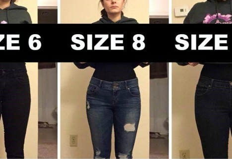 clothing sizes are bs