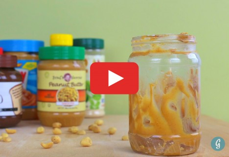 Three Ways to Never Waste Peanut Butter