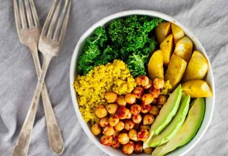 Turmeric Quinoa Power Bowls