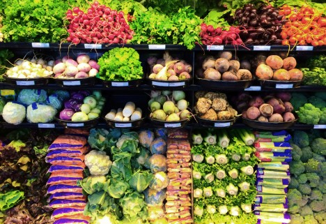 fresh produce grocery store